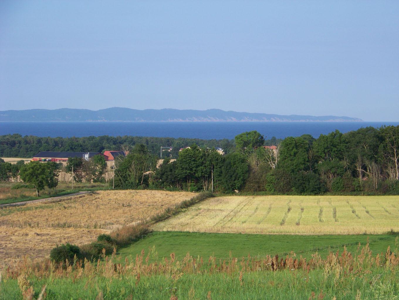 Vy över Skälderviken och Kullaberg