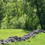 Gammal gärsgård i Sinarpsdalen på Bjärehalvön