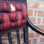 Antik stol från Antikkulan utanför Ängelholm