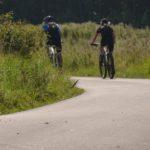 Cyklister i full fart